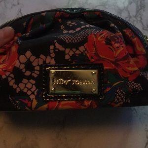 Betsey Johnson Medium Makeup Bag